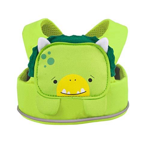Trunki ToddlePak Lauflerngurt für Kinder - einfach und sicher - Dudley (grün)