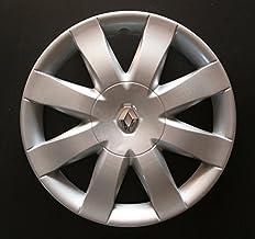Set of 4 New Wheel Trims for Renault Clio 3 / Scenic 2 / Megane 2 / Megane 3 / Modus/Laguna 2 / Laguna 3 / Espace 4 / Vel Satis/Twingo 2 / Kangoo 2 with Original Rims in 15 Inches