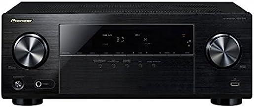 Pioneer VSX-330-K - Sintoamplificador (4K, Dolby TrueHD y DTS-HD, MP3, WMA y AAC) Color Negro