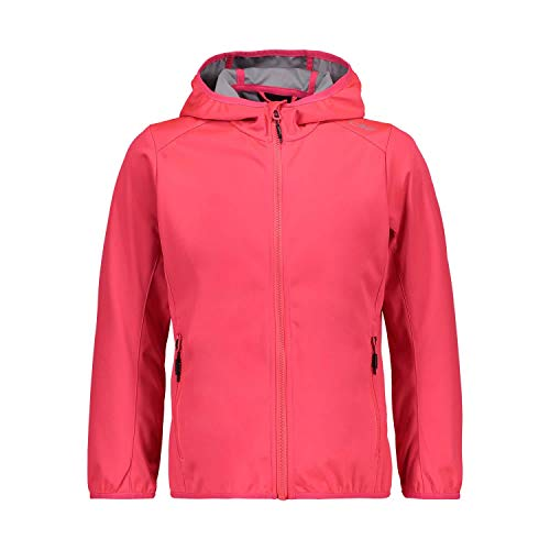 CMP Mädchen Softshell Jacket with Fixed Hood Jacke, Gloss, 152