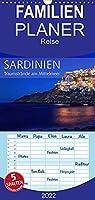 Sardinien - Traumstraende am Mittelmeer - Familienplaner hoch (Wandkalender 2022 , 21 cm x 45 cm, hoch): Fernweh, Sommer, Sonne, Strand und Meer (Monatskalender, 14 Seiten )