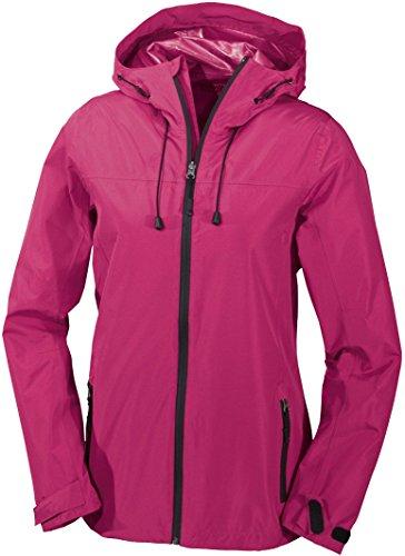 CRIVIT® Damen Trekkingjacke, wasserdicht (Gr. 42, pink)