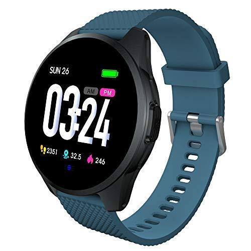 Fitness/Gesundheits Tracker Armband Smart Uhr Wasserdicht Smartwatch Smartarmband für Aktivitätsmesser Kalorienverbrauch Pulsmesser Schrittzähler Verfolgung von IOS/Android
