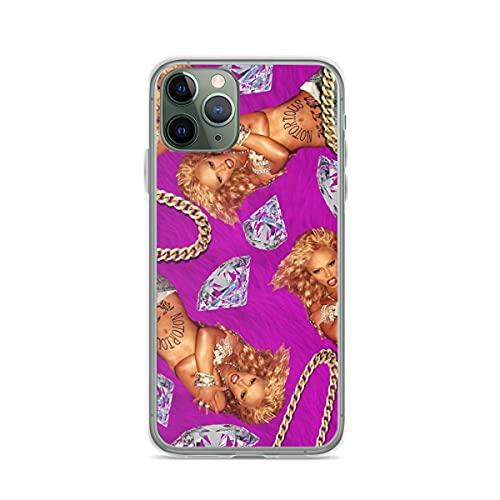 Compatible con iPhone Samsung Xiaomi Redmi Note 10 Pro/Note 9/8/9A Funda Lil Kim Cajas del Teléfono Cover
