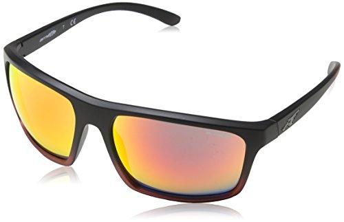 ARNETTE Sandbank gafas de sol, Black Grad Shot Red, 61 para Hombre