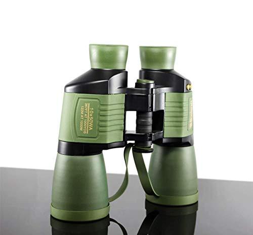 Ffggfgd HAO 10X50 prismáticos de Enfoque automático de Alta resolución HD visión Nocturna Impermeable al Aire Libre Telescopio Astronomía Observación de Aves Escalada