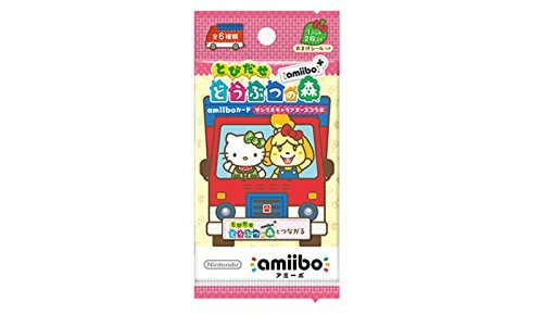 amiibo card Sanrio Animal crossing x 5Packs Japan ver. Hello Kitty