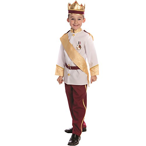 Dress Up America Königliches Prinz Kostüm für Jungen Prinz Charming Kostüm