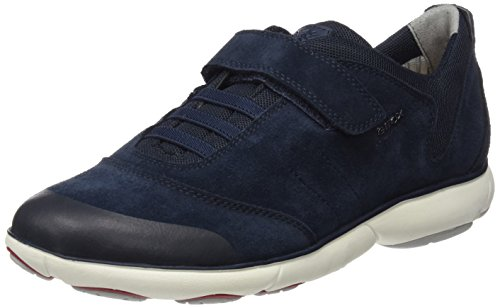 Geox Jungen J Nebula Boy A Low-Top, Blau