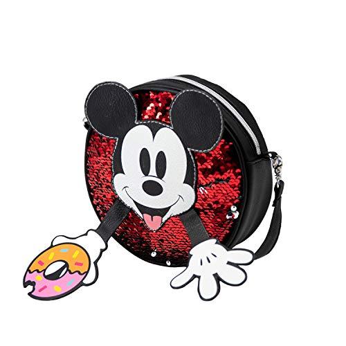 KARACTERMANIA Mickey Mouse Donut-tas, rond, meerkleurig