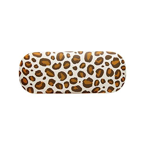 Sass & Belle Funda de gafas de amor de leopardo