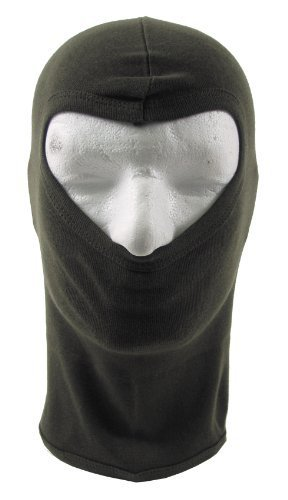 MFH MFH Gesichtsmaske Balaclava 1-loch Dünn, oliv, Einheitsgröße