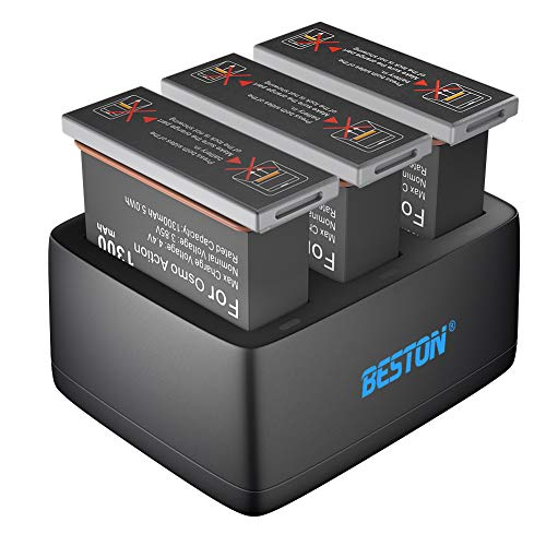 BESTON Battery Charger Pack for DJI...