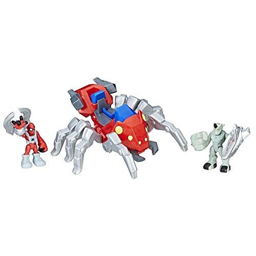 Playskool Heroes Marvel Super Hero Adventures Spider-Man with Spider Bot
