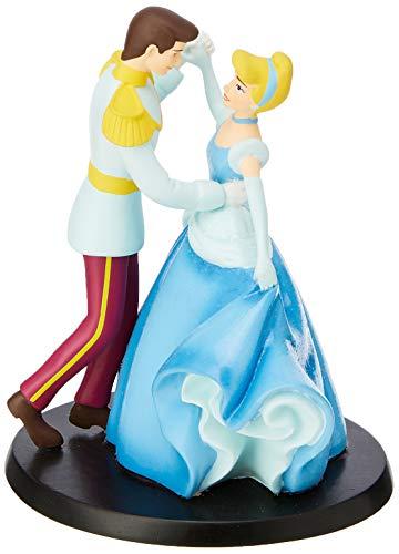 Enchanting Disney, Figura de Cenicienta para colocar encima de tartas y dulces 'cake topper', Enesco