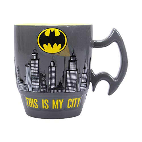 Half Moon Bay MUGBBM39 - Taza relieve Batman Cerámica