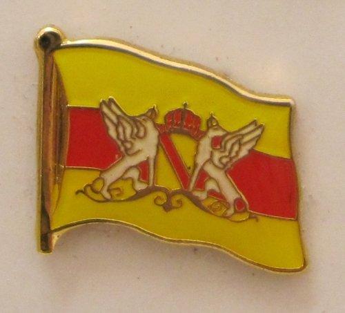 Pin Anstecker Flagge Fahne Baden Flagge Flaggenpin Badge Button Flaggen Clip Anstecknadel