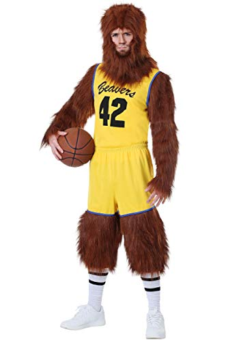 Teen Wolf Basketball Player Costume, X-Small Size