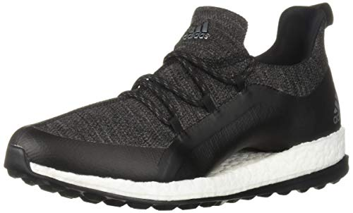 adidas Women's Pureboost XG 2 Golf Shoe, core Black/Grey six/Silver Metallic, 6.5 M US