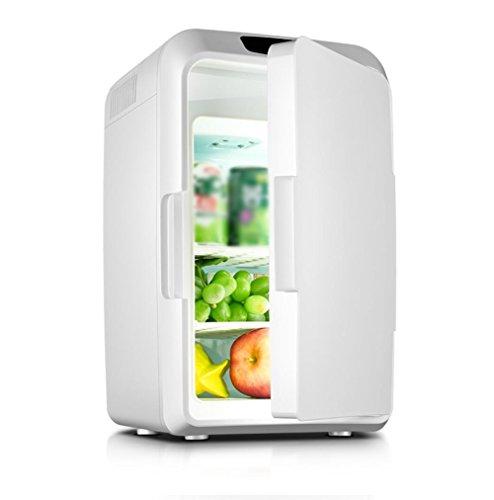 YLG mini-koelkast, inhoud: ca. 12 liter, koelbox, warmhoudbox, voor auto's en huizen, wit