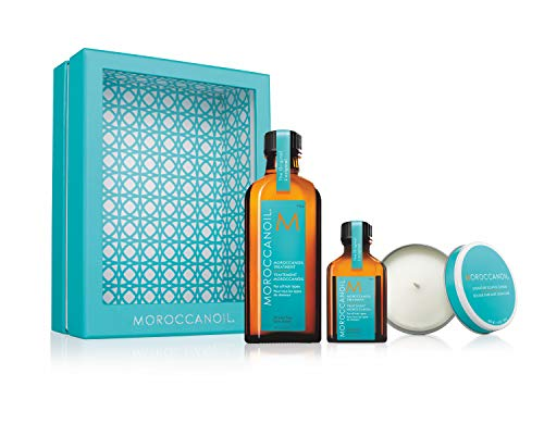 Moroccanoil Home & Away mit Kerze