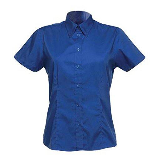 Kustom Kit d'entreprise Oxford blouse à manches courtes Blanc 24