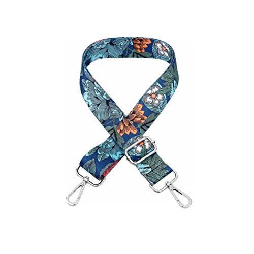Umily 3.8 cm Tracolla per borsa di ricambio tracolla tracolla regolabile multicolore tracolla tracolla 80-130cm