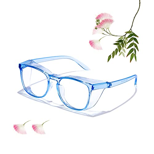Anti Fog Safety Goggles,Blue Light Blocking Safety Eyeglasses for Men Women