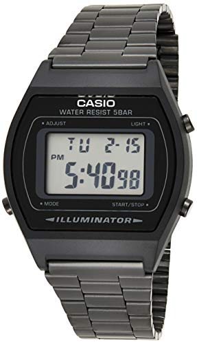Casio Collection B640WB-1AEF, Reloj con LED Luz para Hombre, Negro/Gris