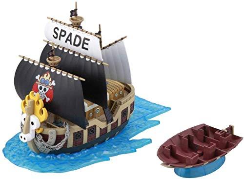 ワンピース 偉大なる船(グランドシップ)コレクション スペード海賊団の海賊船 色分け済みプラモデル