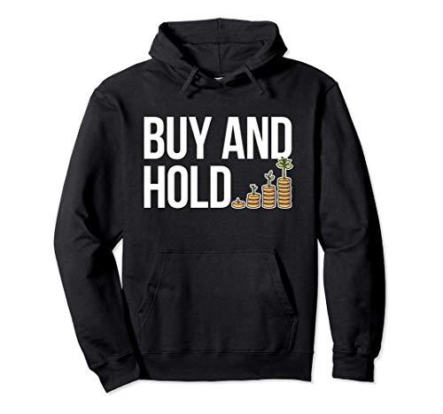 Buy&Hold Investor Börse Aktien Klein-Anleger Aktionär Finanz Pullover Hoodie