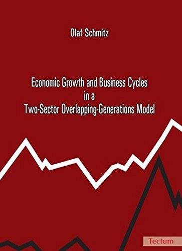 Economic Growth and Business Cycles in a Two-sector Overlapping-generations Model