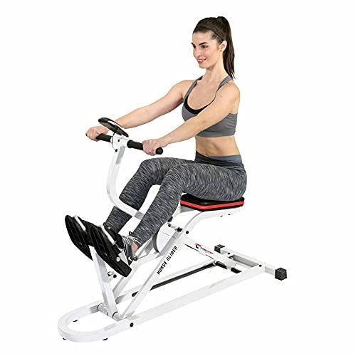 Christopeit Sport Horse Glider zum Heben & Senken - Heimtrainer zur Stärkung von Arme, Beine, Rücken und Po