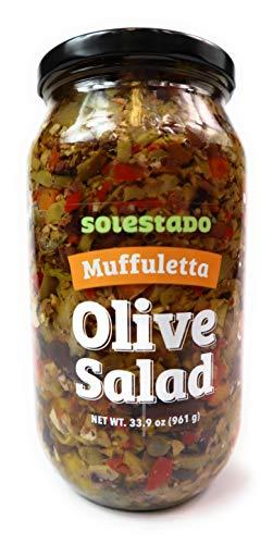 Solestado Muffuletta Olive Salad 33.9oz
