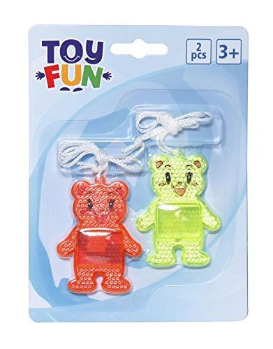 Toys for Fun Reflektor Bären 2 Stück,W135xH182mm