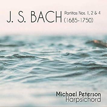 J.S. Bach Partitas 1, 2 & 4