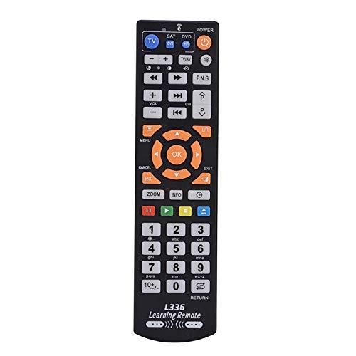 Kuuleyn Control Remoto de Aprendizaje Universal, Controlador de Control Remoto Inteligente Universal con función de Aprendizaje para TV CBL DVD Sat