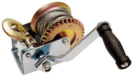 BGS 3485 | Drahtseilwinde | 270 kg | Hand-Seilwinde | Auto, Boot, Anhänger-Winde