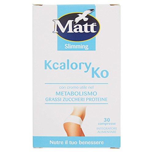 Matt Kcalory Ko Integratore Alimentare, Confezione da 30 Compresse