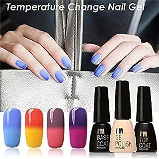 06 : Ladies Led Lamp Nail Polish Color Change Soak Off UV Nail Polish Gel Multi-Color