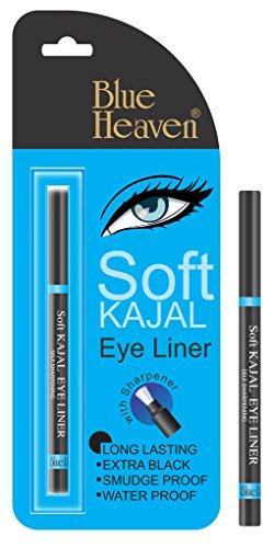 Azul cielo suave de ojos delineador de ojos (negro) negro