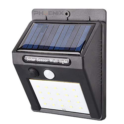 新型 LED センサーライト 屋外 人感 明暗 ソーラーライト 常夜灯 20灯 25灯 30灯 配線 電池 不要 自動点灯 防水 防犯 省エネ 庭 玄関 塀 壁 照明 30LED,センサーライト