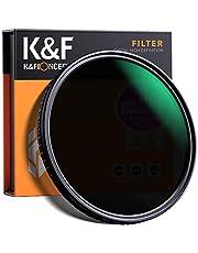 NDフィルター 67mm 可変式 X状ムラなし ND2-ND32減光フィルター 薄型 レンズフィルター K&F Concept【メーカー直営店】