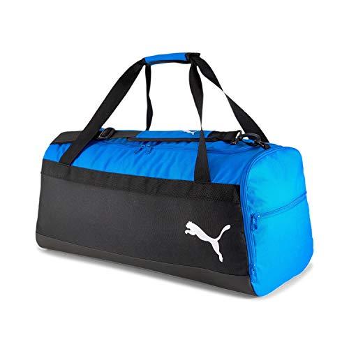 PUMA teamGOAL 23 Teambag M Bolsa Deporte, Unisex-Adult, Electric Blue Lemonade Black, OSFA