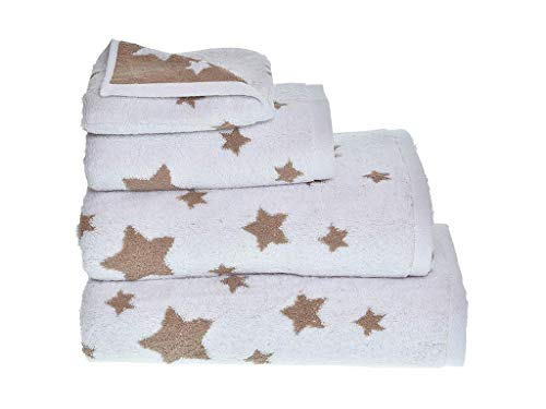 MI CASA Toalla Stars TOCADOR Beige 500GR