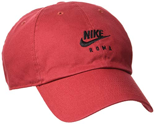 Nike As Roma Heritage 86 Baseballkappe, Team Crimson/Black, One Size