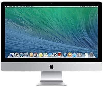 Apple iMac 21.5' (i5-7400 3.0ghz 16gb 1tb HDD) QWERTY U.S Teclado MNDY2LL/A Medio 2017 Plata (Reacondicionado)
