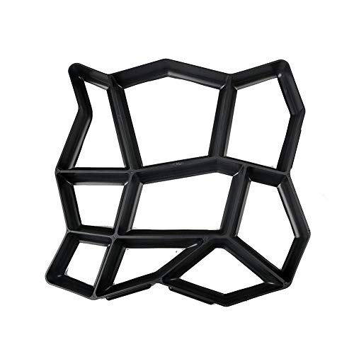 Phrat Steinform Schimmel DIY Persönlichkeit Boden Maker Gartenpflaster Bodenform Geeignet für Garten Pool Terrasse
