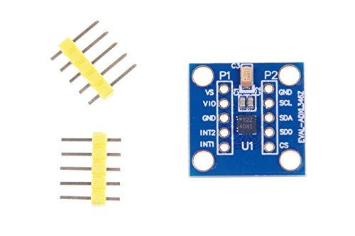 LM YN ADXL346Z 3-axis Ultra-Low Power Digital Accelerometer Sensor Module (± 2 g ± 4 g ± 8 g ± 16 g) SPI IIC
