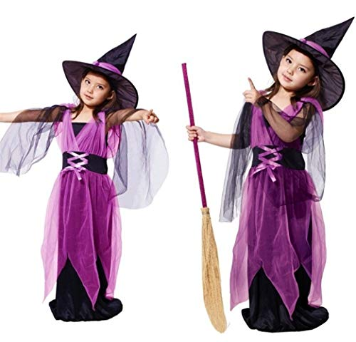 LXJ Halloween, Halloween Party Props, Decoraties, Kinderen Baby Meisjes Kinderen Vampier Heks Kostuum Meisje Cosplay Carnaval Party Prinses Fancy Dress Fantasia